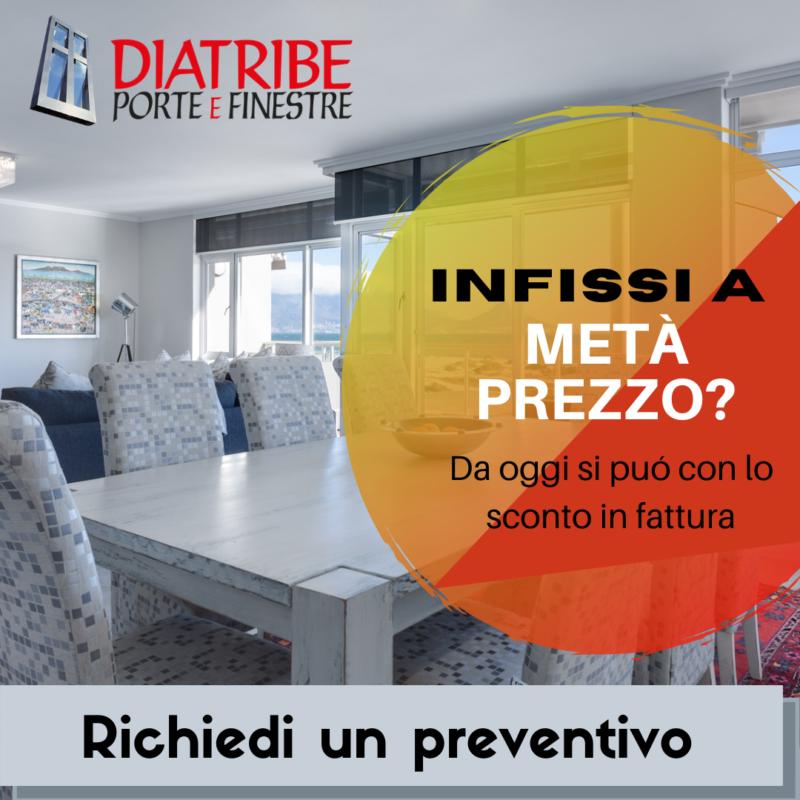 Sconto in fattura: infissi  Internorm a metà prezzo!
